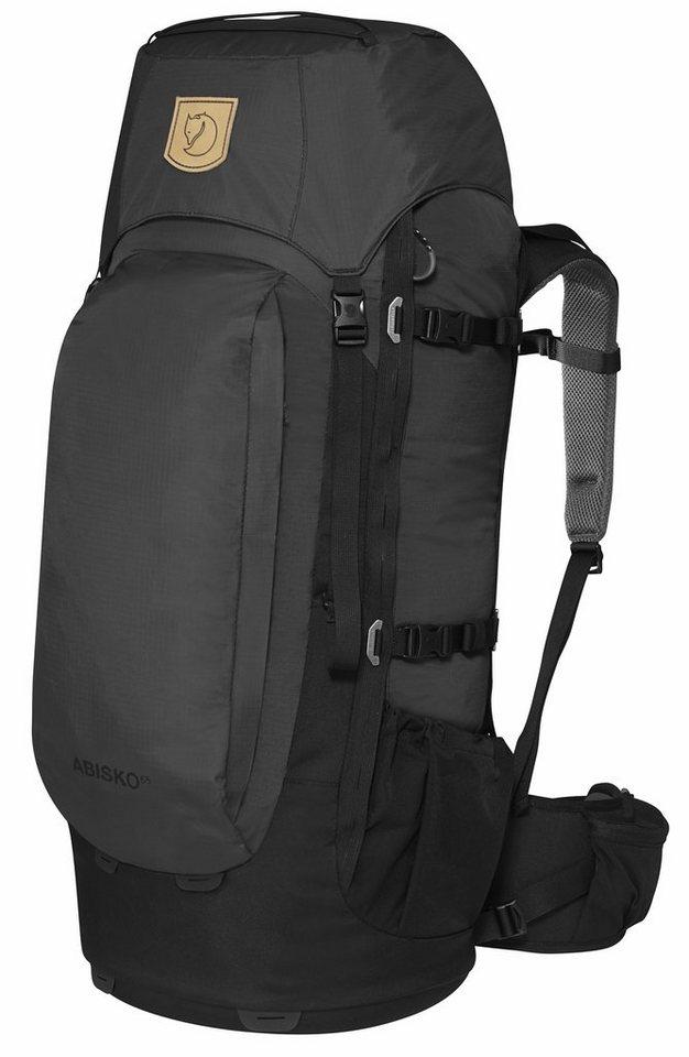 Fjällräven Wanderrucksack »Abisko 75 Backpack« in grau