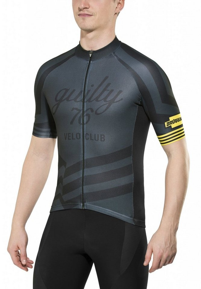 guilty 76 racing Radtrikot »Velo Club Pro Race Jersey Men« in schwarz