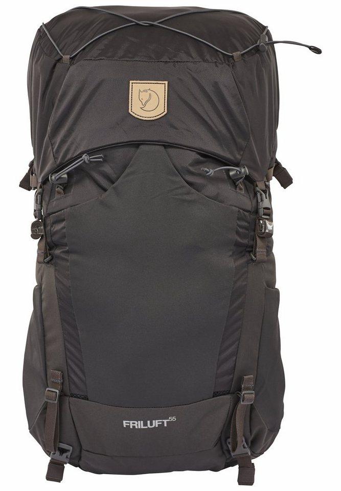 Fjällräven Sport- und Freizeittasche »Friluft 55 Backpack« in grau