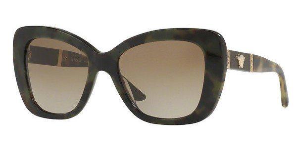 Versace Damen Sonnenbrille » VE4305Q«, braun, 518313 - braun/braun
