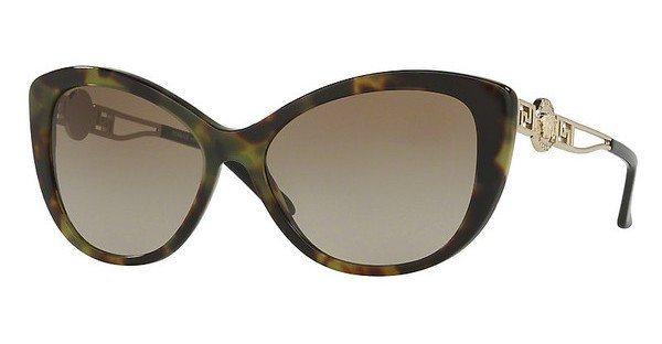 Versace Damen Sonnenbrille » VE4295« in 518313 - braun/braun
