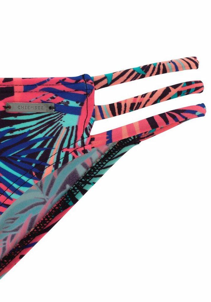 Damen Chiemsee Triangel-Bikini im trendigen Tropical-Design bunt, mehrfarbig, rot | 04893865746505