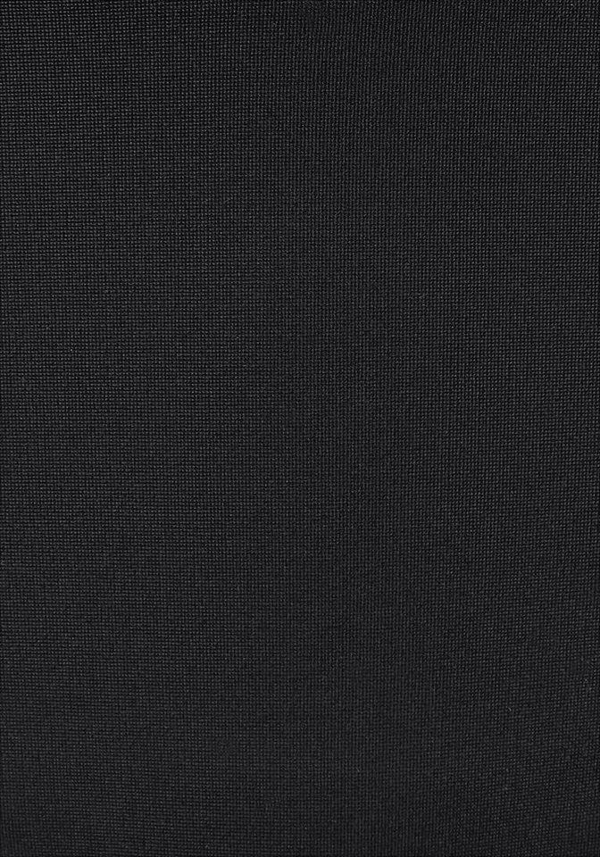 - Damen LASCANA Triangel-Bikini mit Ziernieten bunt, mehrfarbig, schwarz | 04893865274114