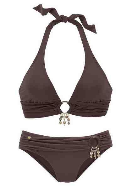 s.Oliver RED LABEL Beachwear Triangel-Bikini mit Accessoires