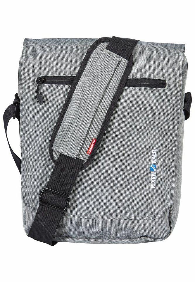 KlickFix Gepäckträgertasche »Smart Bag Lenkertasche grau«