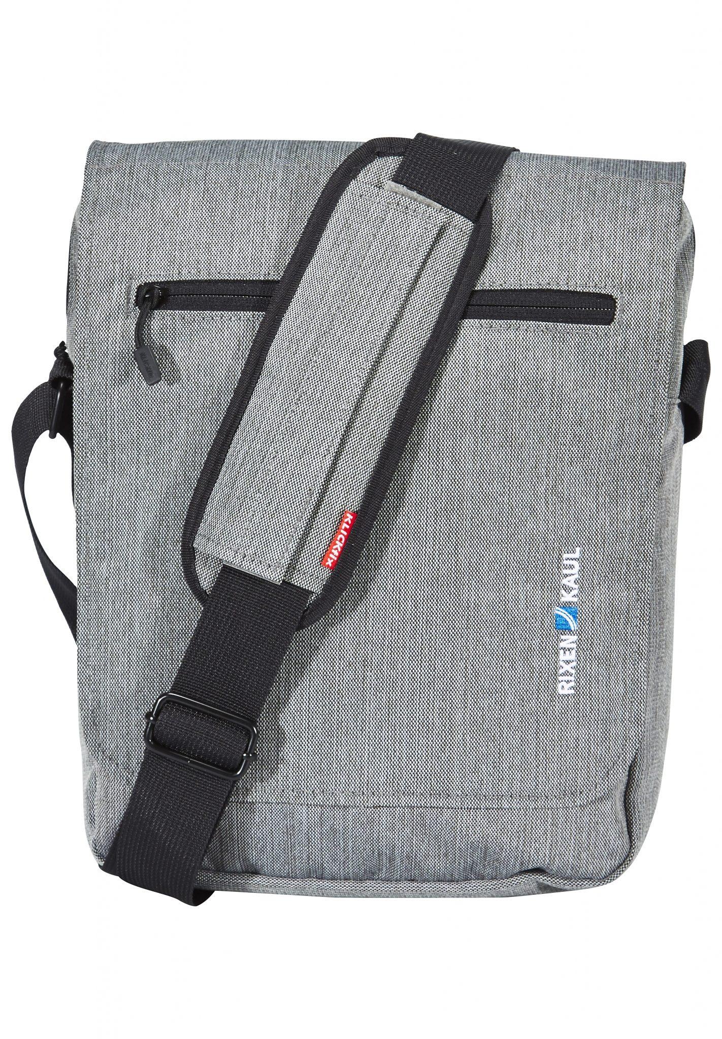KlickFix Fahrradtasche »Smart Bag Lenkertasche grau«