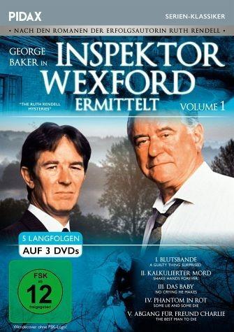 DVD »Inspektor Wexford ermittelt - Vol. 1 (3 Discs)«