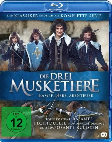 Blu-ray »Die Drei Musketiere (2 Discs)«