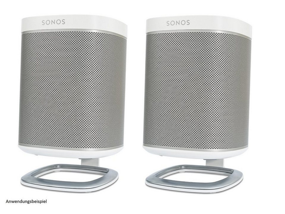 Flexson (Paar) Lautsprecherständer »Tisch-Ständer für Sonos Play:1« in weiss