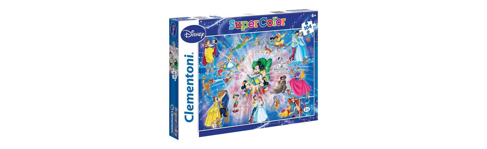 Clementoni Puzzle 104 Teile - Disney Familiy