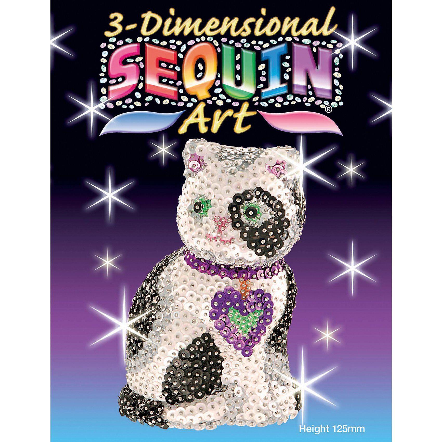 MAMMUT Spiel und Geschenk Sequin Art 3D - Katze