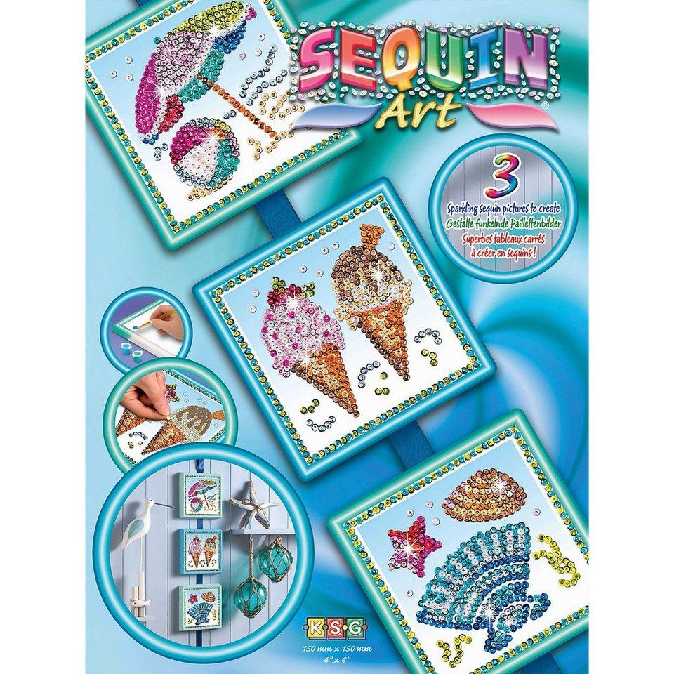 MAMMUT Spiel und Geschenk Sequin Art Season - Sommer