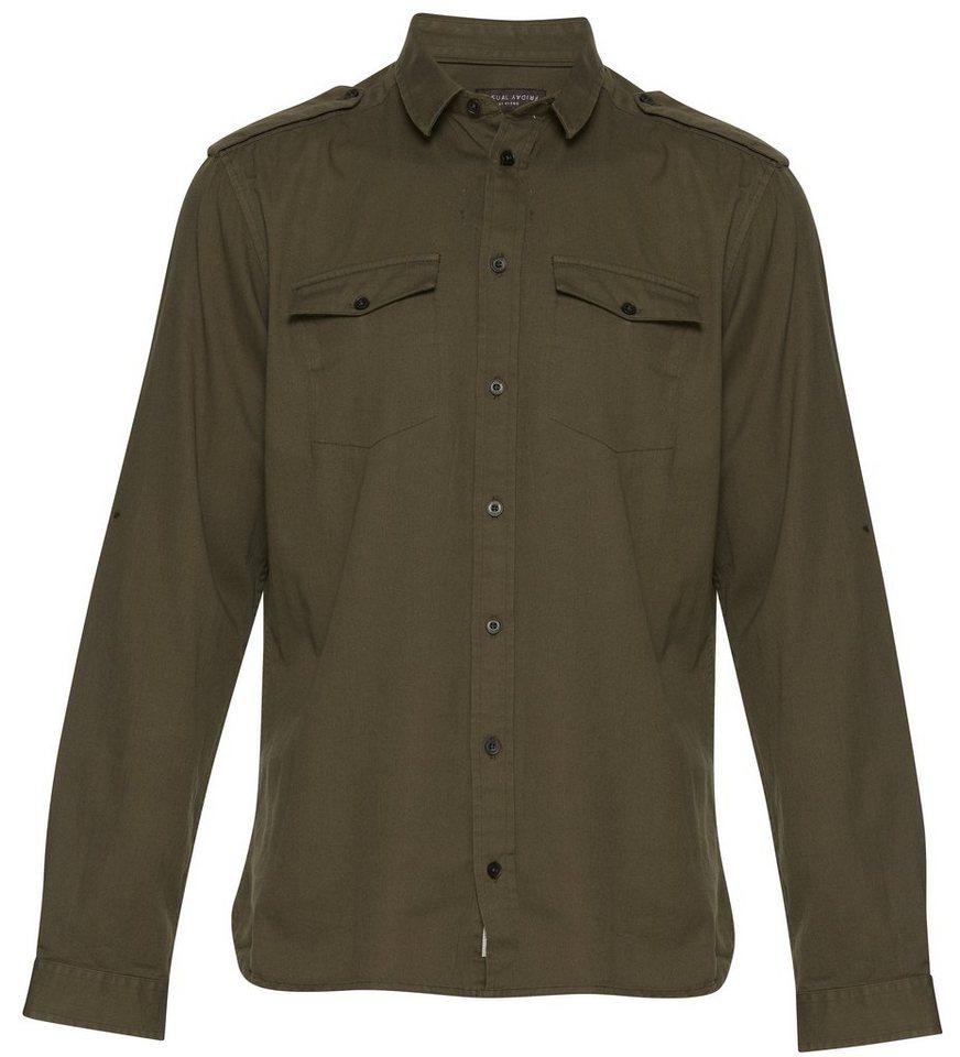 Casual Friday Hemden in Grün