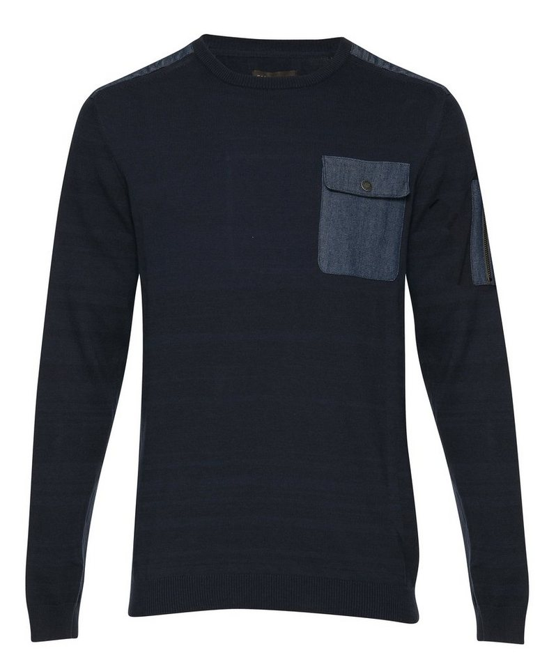 Casual Friday Pullover in Grau