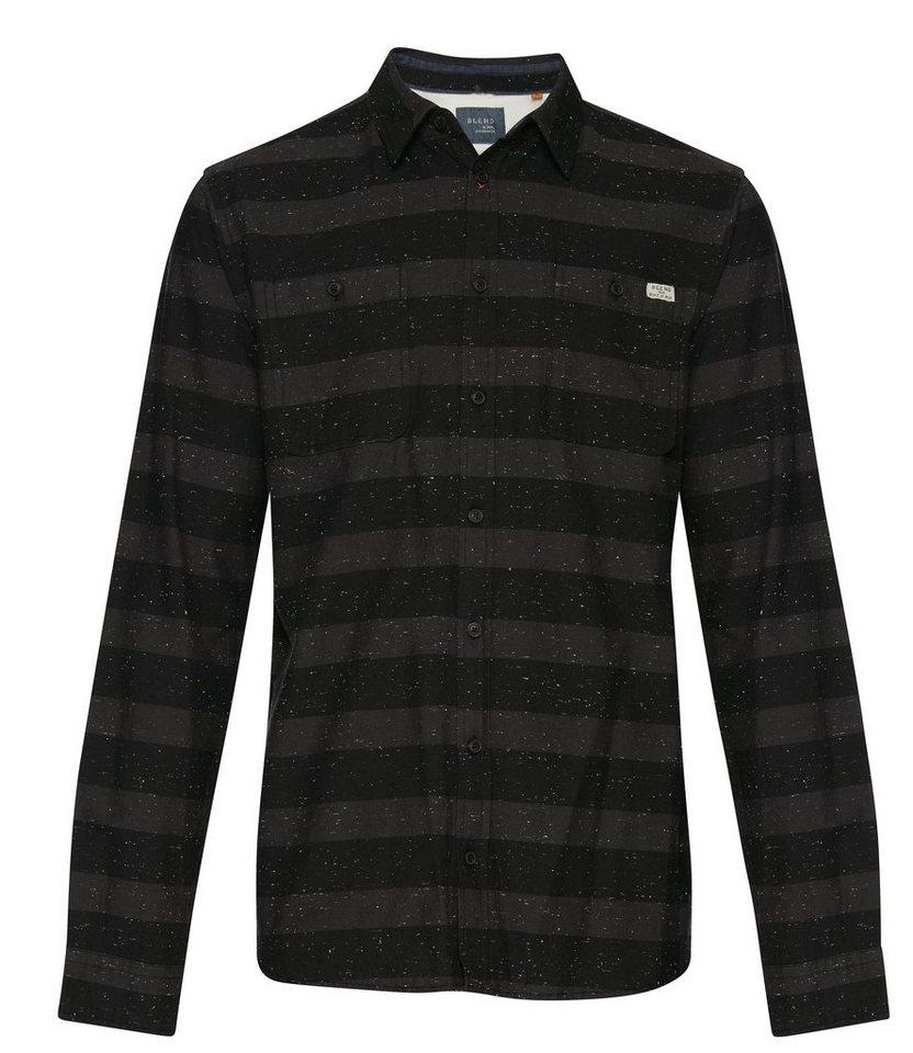 Blend Slim fit, schmale Form, Hemden in Schwarz