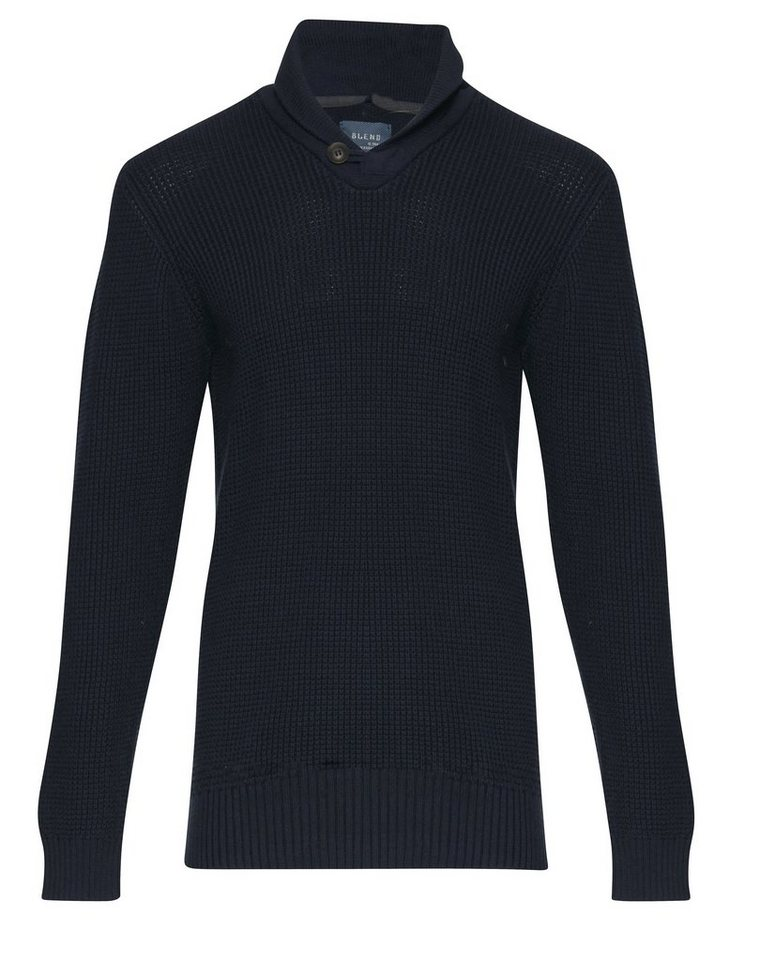 Blend Slim fit, schmale Form, Pullover in Blau