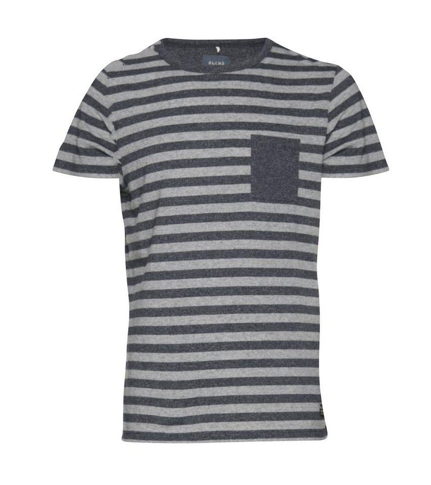 Blend Slim fit, schmale Form, T-Shirt in Marine