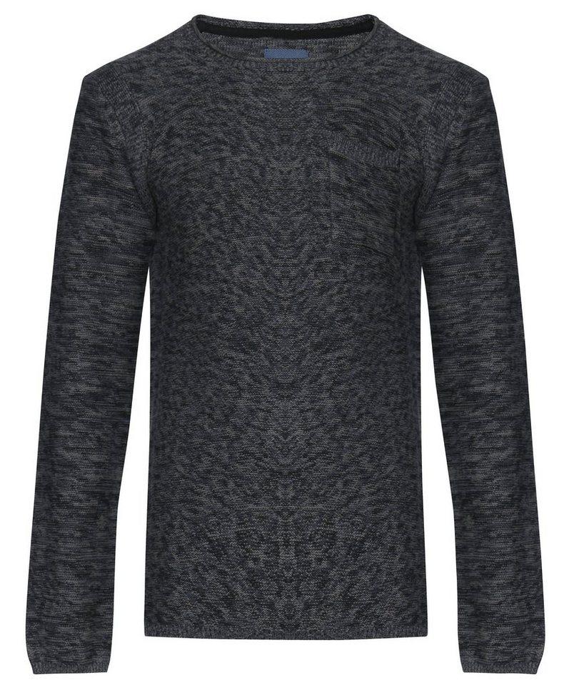 Blend Slim fit, schmale Form, Pullover in Schwarz