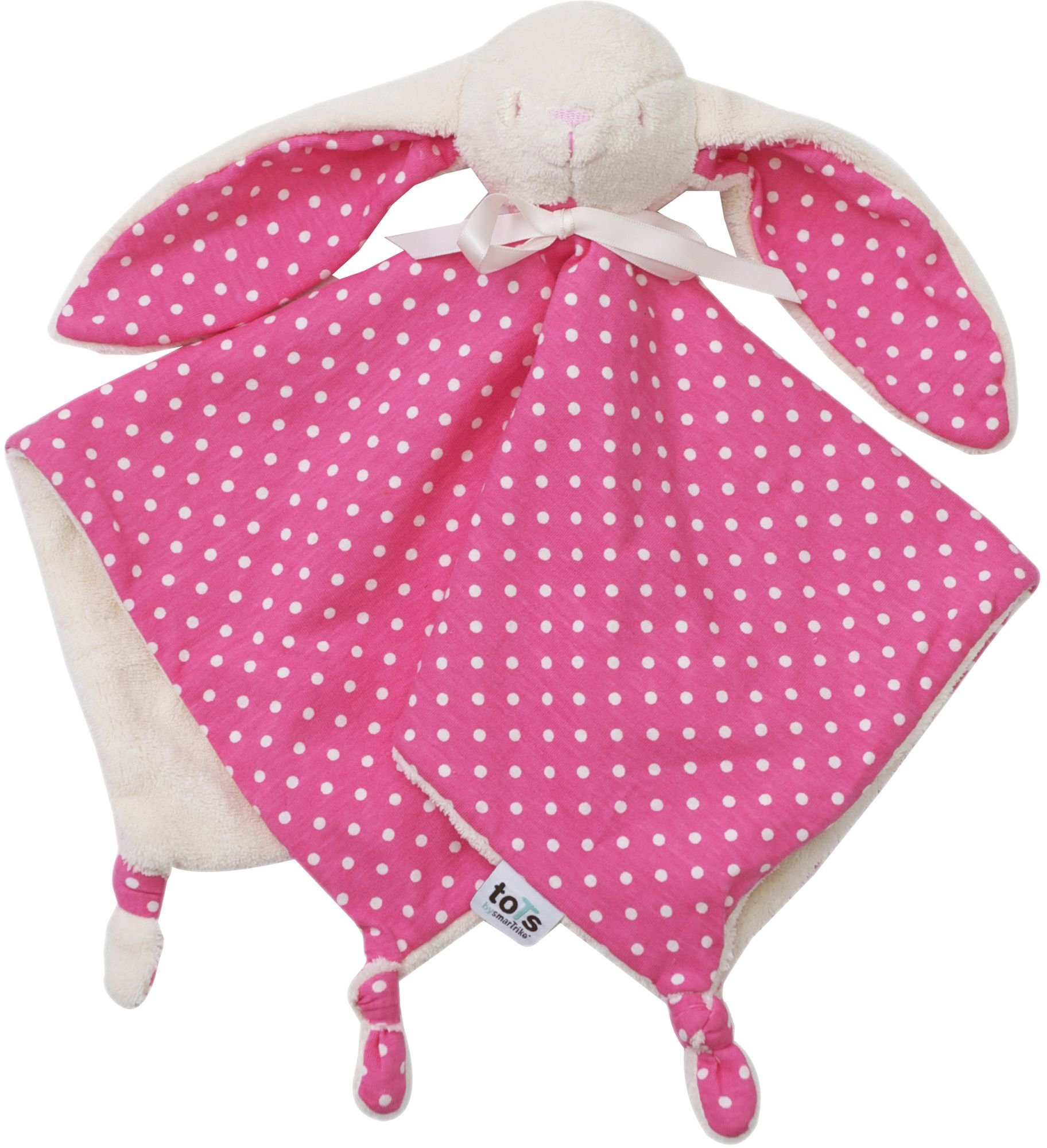 SmarTrike® Schmusetuch, »toTs Schnuffeltuch Joy pink«