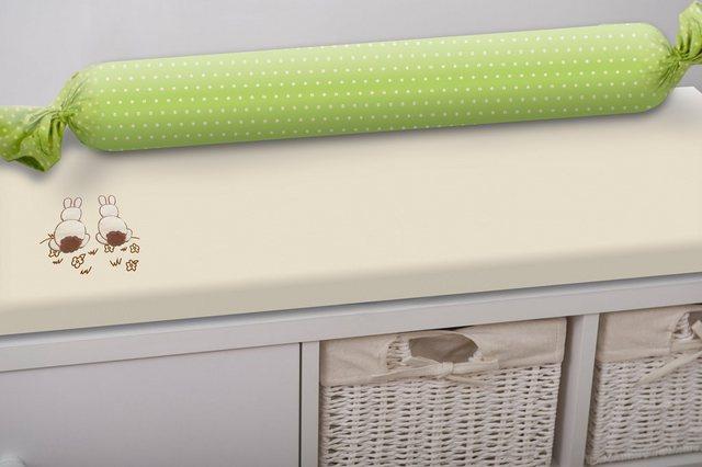 Wickelmöbel und Zubehör - smarTrike® Wickelauflage »toTs Wickelmatte Joy Rabbit grün«, mit Rolle  - Onlineshop OTTO