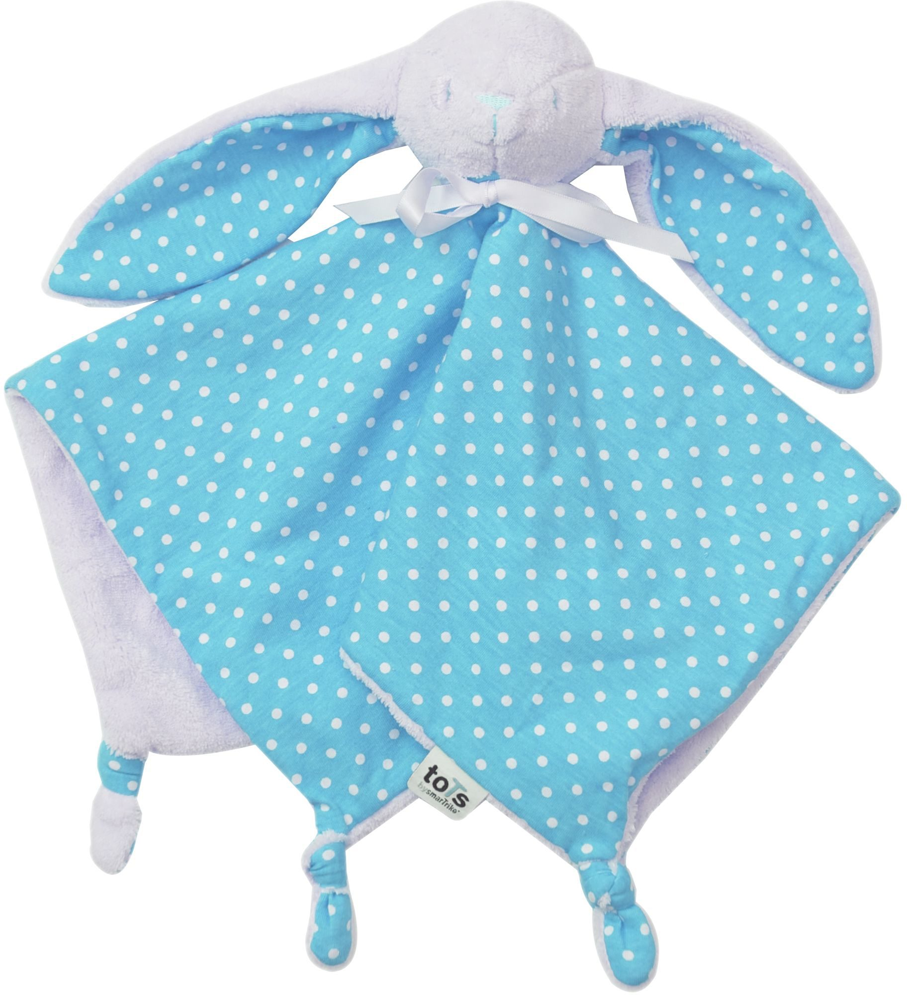 SmarTrike® Schmusetuch, »toTs Schnuffeltuch Joy blau«