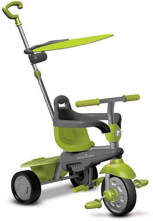 SmarTrike® Dreirad mit Sonnenschutzdach, »Carnival Touch Steering® 3-in-1 Trike grün« in grün
