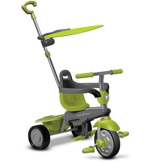 SmarTrike® Dreirad mit Sonnenschutzdach, »Carnival Touch Steering® 3-in-1 Trike grün«