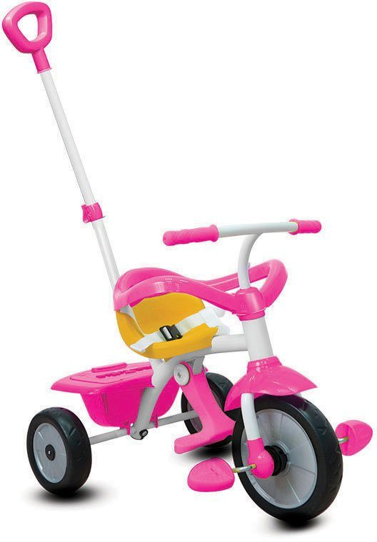 SmarTrike® Dreirad mit abnehmbarer Schubstange, »Play 3 Trikes in 1 pink«