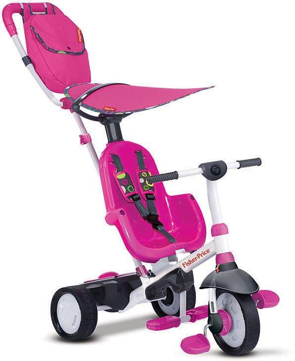 Fisher Price Dreirad mit Elternkontrolle, »Baby Trike Charisma pink« in pink