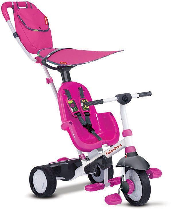 Fisher Price Dreirad mit Elternkontrolle, »Baby Trike Charisma pink«