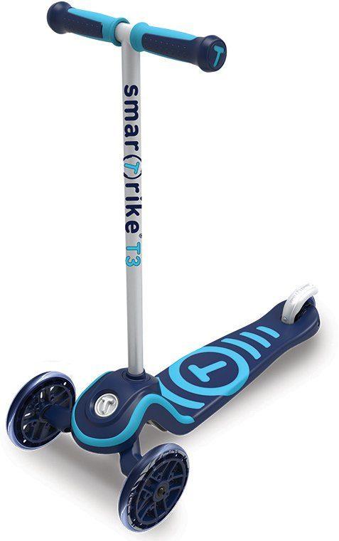 SmarTrike® Scooter mit Federstahlbremse, »T3 blau«