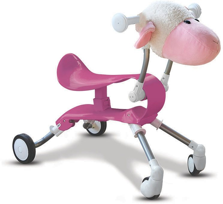 SmarTrike® Lauflernhilfe Rutscher, »Springo Farm Schaf« in rosa