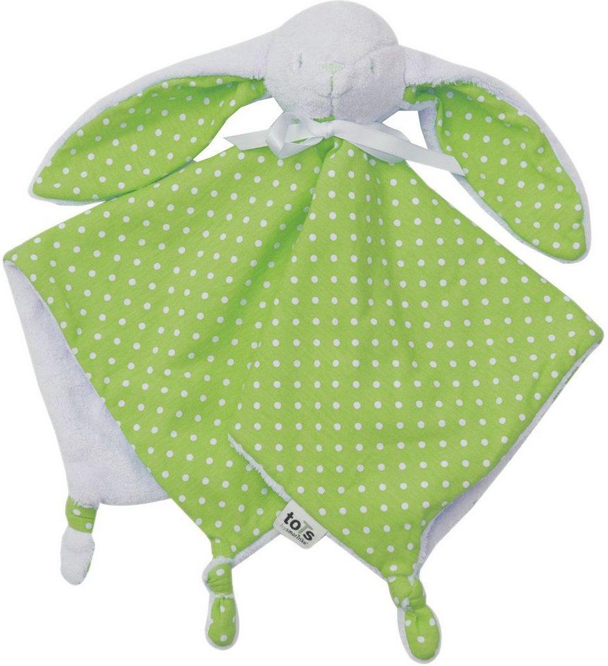 SmarTrike® Schmusetuch, »toTs Schnuffeltuch Joy grün«