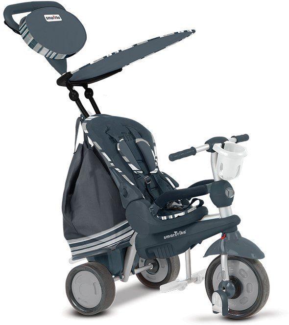 SmarTrike® Dreirad mit abnehmbarem Sonnenschutz, »Splash 5 Trikes in 1 grau«