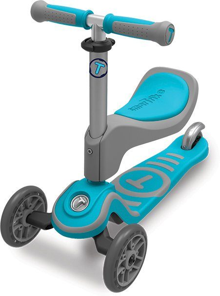 SmarTrike® Scooter mit Federstahlbremse, »T1 blau«