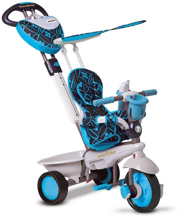 SmarTrike® Dreirad mit verstellbarem Sonnenschutzdach, »Dream 4 Trikes in 1 blau«
