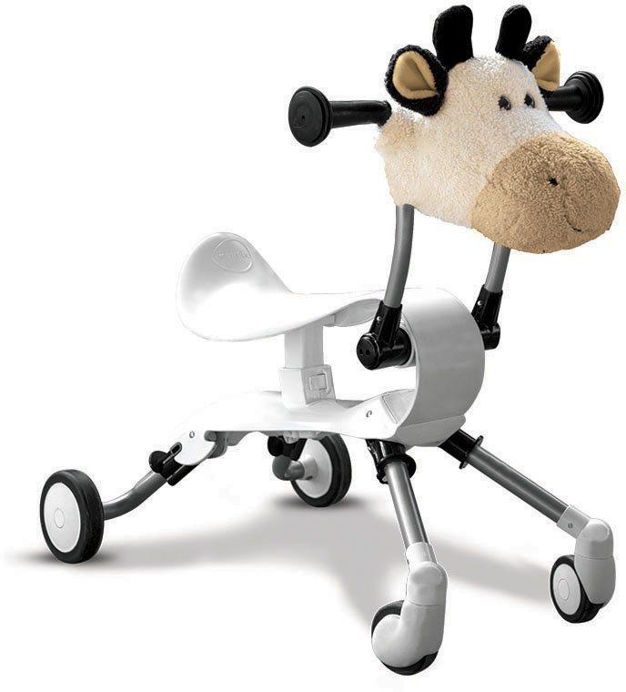 SmarTrike® Lauflernhilfe Rutscher, »Springo Farm Kuh« in weiß