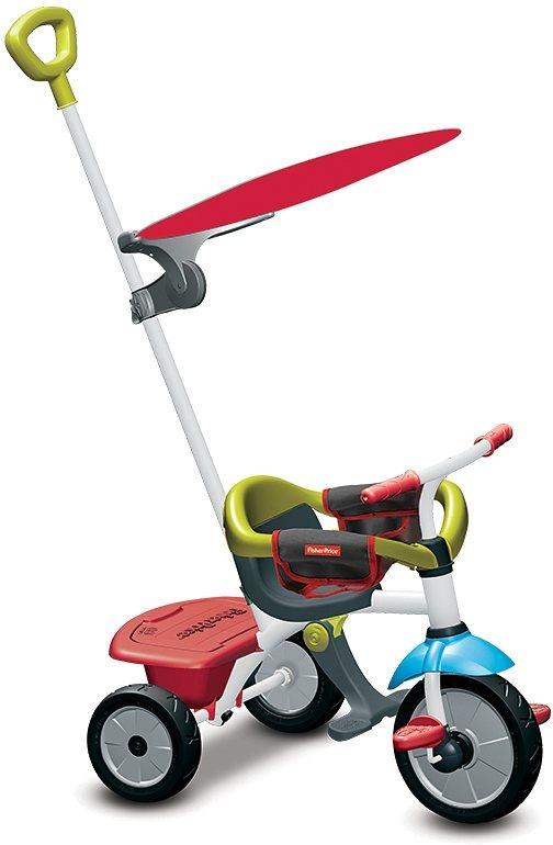 Fisher Price Dreirad mit Sonnenschutzdach, »Baby Trike Jolly Plus rot« in rot