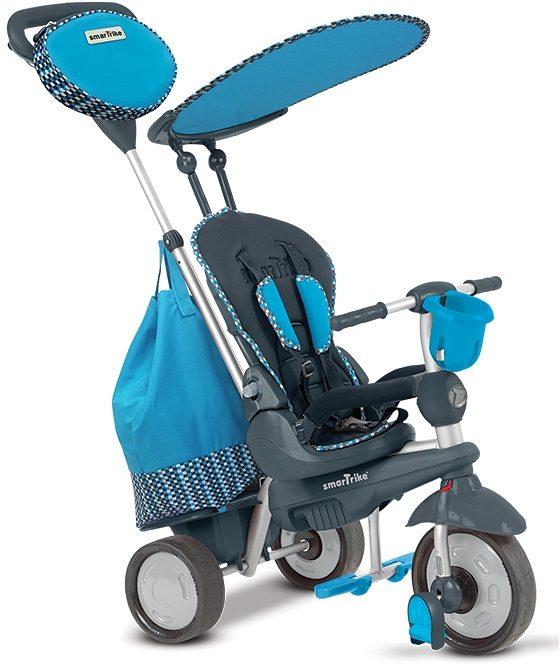 SmarTrike® Dreirad mit abnehmbarem Sonnenschutz, »Splash 5 Trikes in 1 blau«