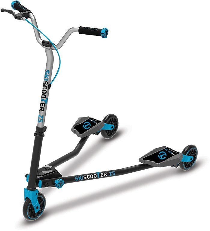 SmarTrike® Kinderroller mit 3 Rädern, »Ski Scooter Z5 blau«