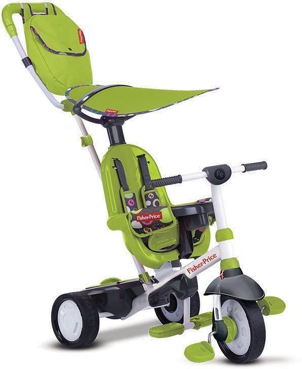 Fisher Price Dreirad mit Elternkontrolle, »Trike Charisma grün« in grün