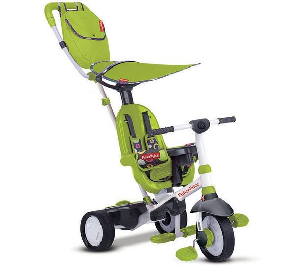 Fisher Price Dreirad mit Elternkontrolle, »Trike Charisma grün«