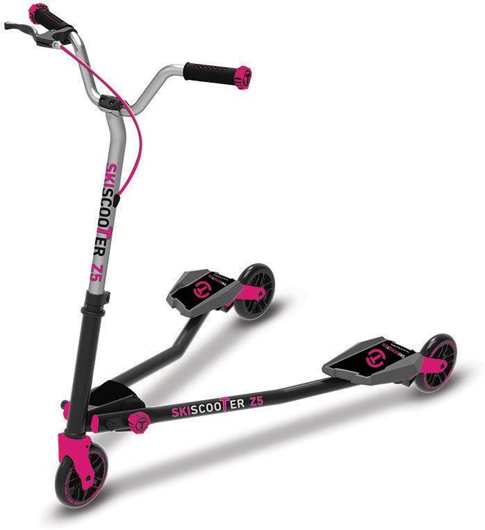 SmarTrike® Kinderroller mit 3 Rädern, »Ski Scooter Z5 pink«