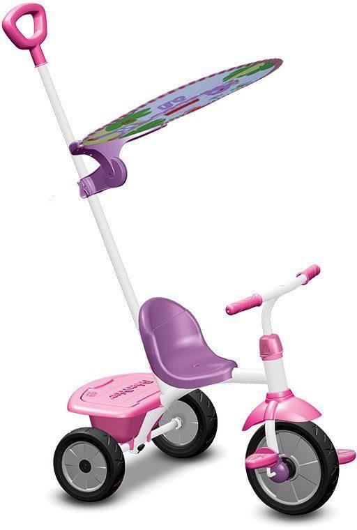SmarTrike® Dreirad mit Freilaufkupplung, »Fisher Price Baby Trike Glee Plus lila pink«