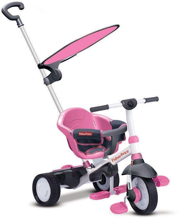Fisher Price Dreirad mit Sonnenschutzdach, »Charm Plus pink« in pink