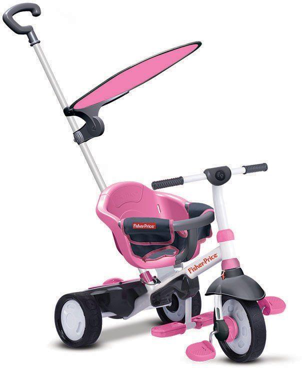SmarTrike®Dreirad mit Sonnenschutzdach, »Fisher Price Charm Plus pink«