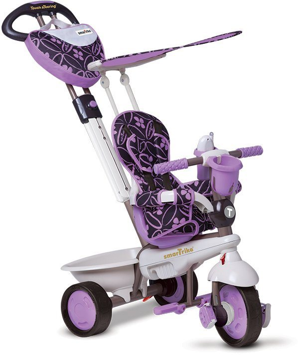 SmarTrike® Dreirad mit verstellbarem Sonnenschutzdach, »Dream 4 Trikes in 1 lila« in lila