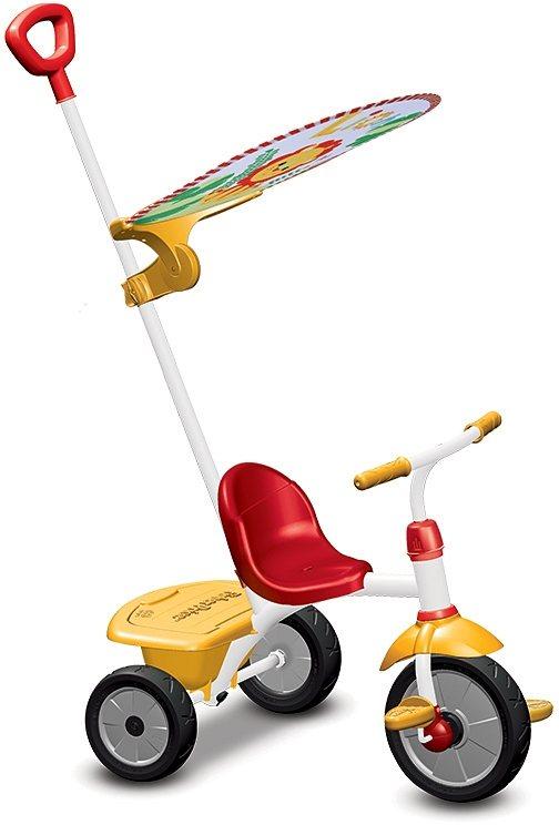 Fisher Price Dreirad mit Freilaufkupplung, »Baby Trike Glee Plus rot gelb« in rot