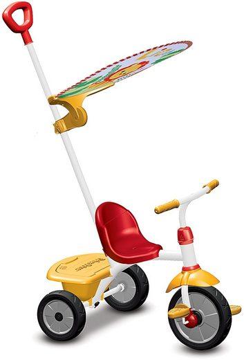 smarTrike® Dreirad »Fisher Price Baby Trike Glee Plus rot gelb«, mit Freilaufkupplung