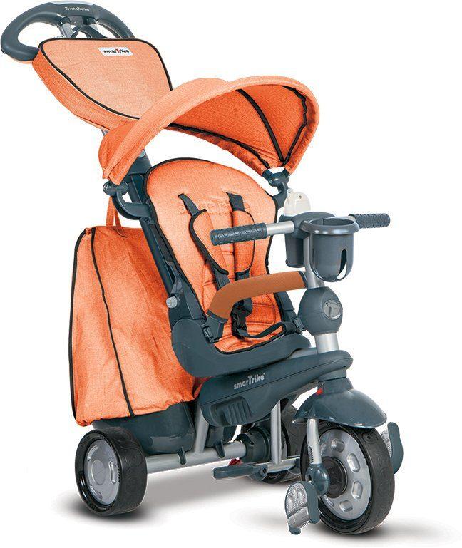 SmarTrike® Dreirad mit verstellbarem Sonnenschutzdach, »Explorer 5 Trikes in 1 orange«